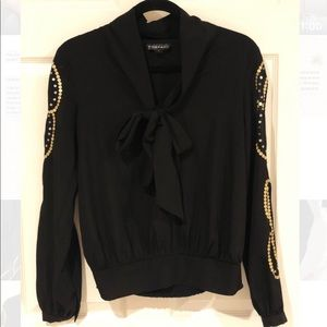 RAMPAGE black blouse size Small